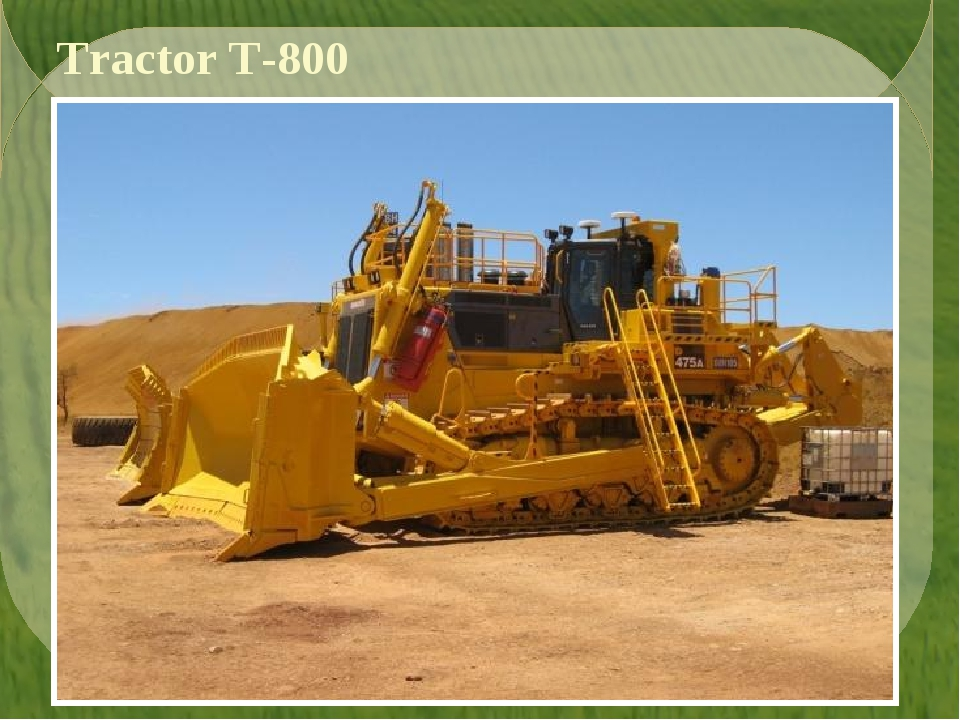 Tractor T-800