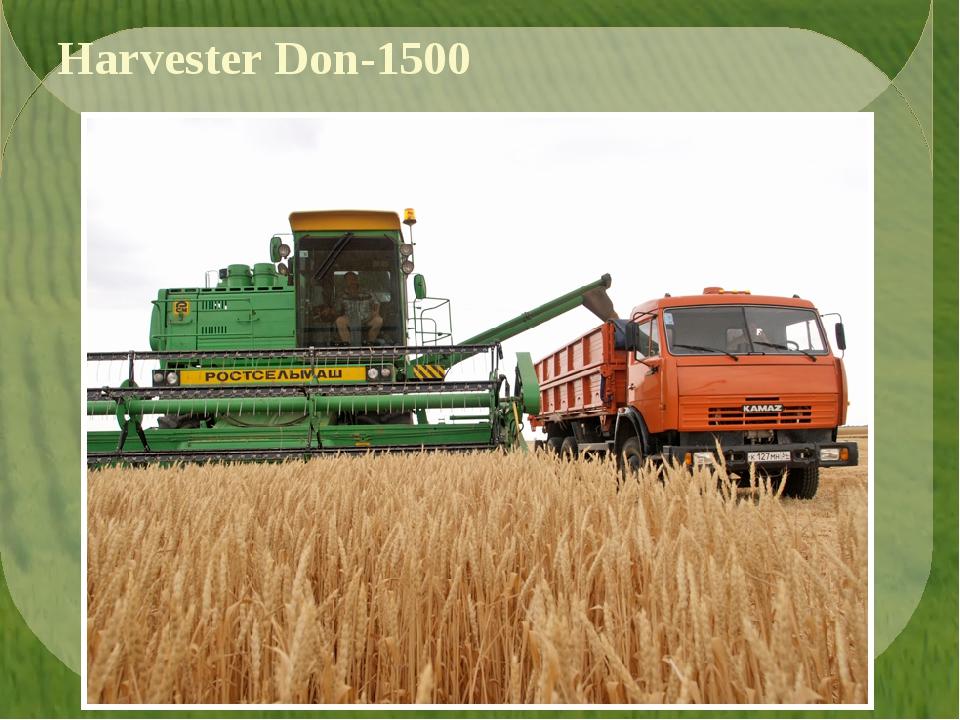 Harvester Don-1500