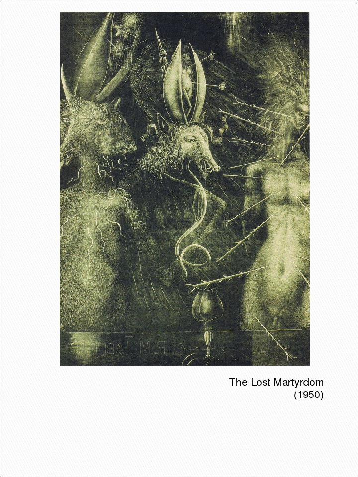 The Lost Martyrdom (1950)