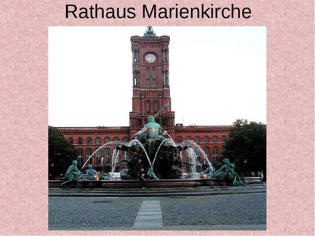 Rathaus Marienkirche