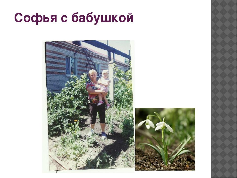 Софья с бабушкой