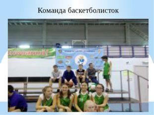 Команда баскетболисток