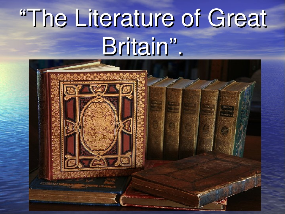 """The Literature of Great Britain""."