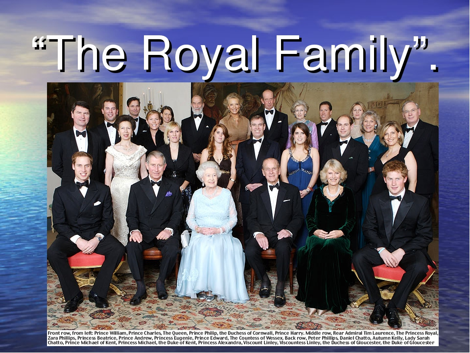 """The Royal Family""."