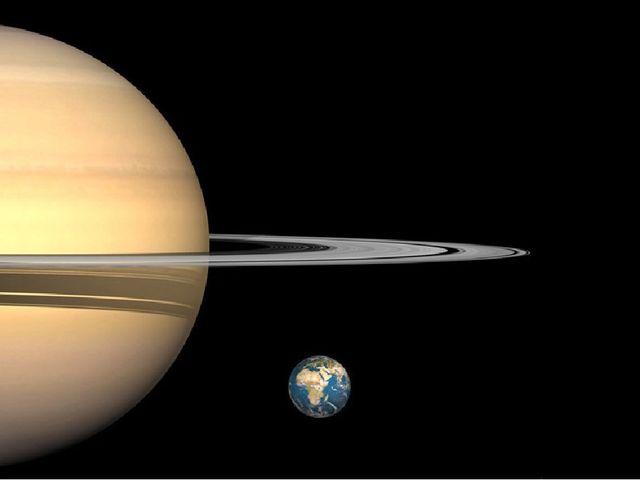 Плотность Сатурна настолько мала, что, если бы нам удалось поместить его в во...