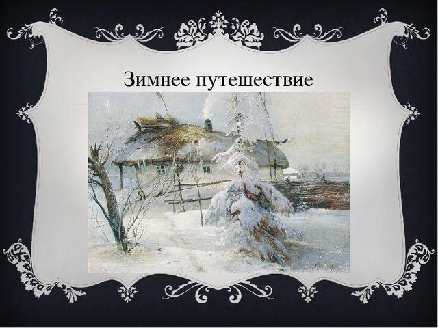 Зимнее путешествие