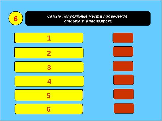 Самые популярные места проведения отдыха г. Красноярска Остров Татышев25 Рое...