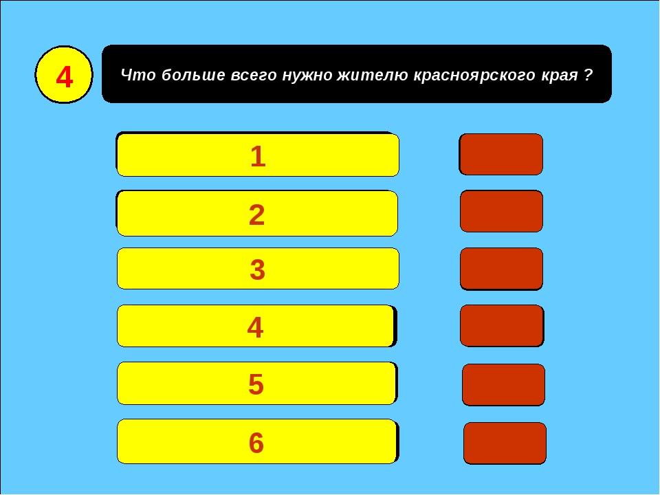 Что больше всего нужно жителю красноярского края ? Денег и квартиру 19 Тепла...