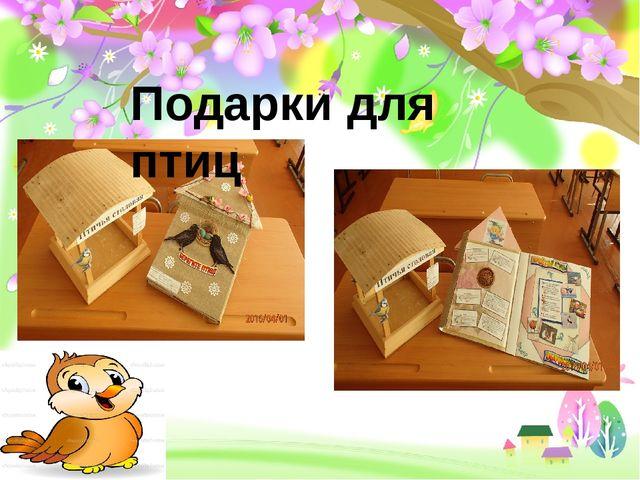 Подарки для птиц