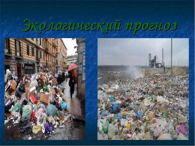 Экологический прогноз