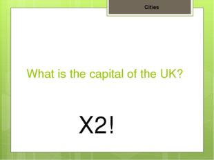 What is the capital of Scotland? Cities