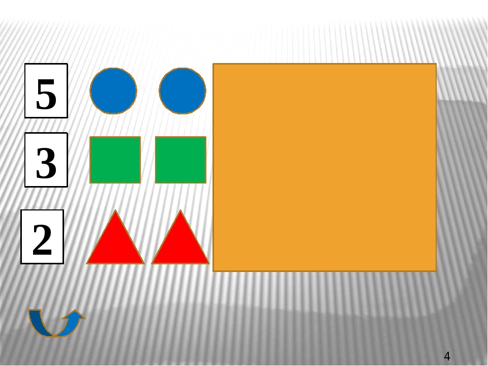 размером цветом формой