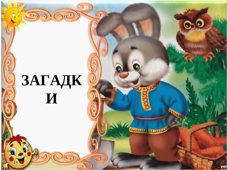 * ЗАГАДКИ 14