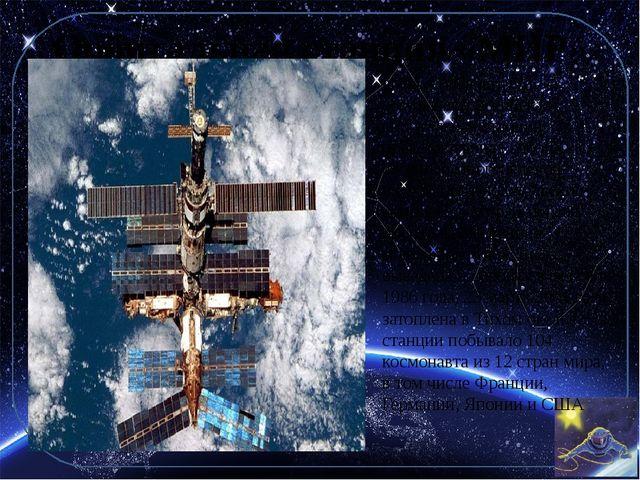 Орбитальная станция «МИР» «Мир» («Салют-8») — советская (российская) орбиталь...