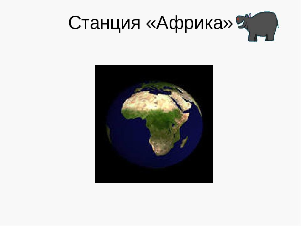 Станция «Африка»