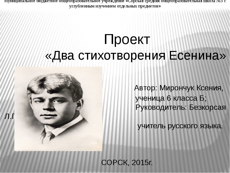 Муниципальное бюджетное общеобразовательное учреждение «Сорская средняя общео...