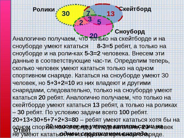 Решите самостоятельно: 1). В таблице приведены запросы и количест...