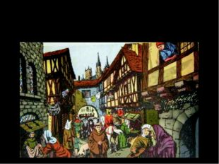 Крепостная стена вокруг Парижа. XV век. Становление города Средневековый Пари