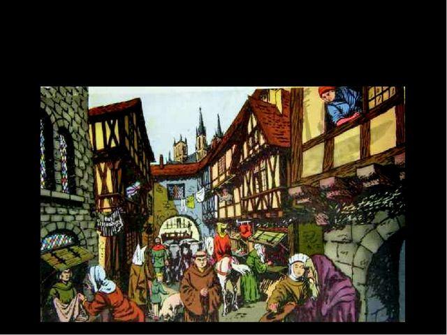 Крепостная стена вокруг Парижа. XV век. Становление города Средневековый Пари...