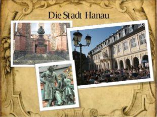 Die Stadt Hanau