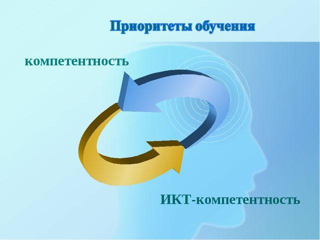компетентность ИКТ-компетентность