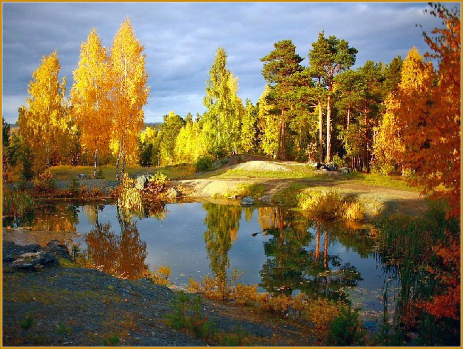 красивые фото пейзаж золотая осень возвращении участники