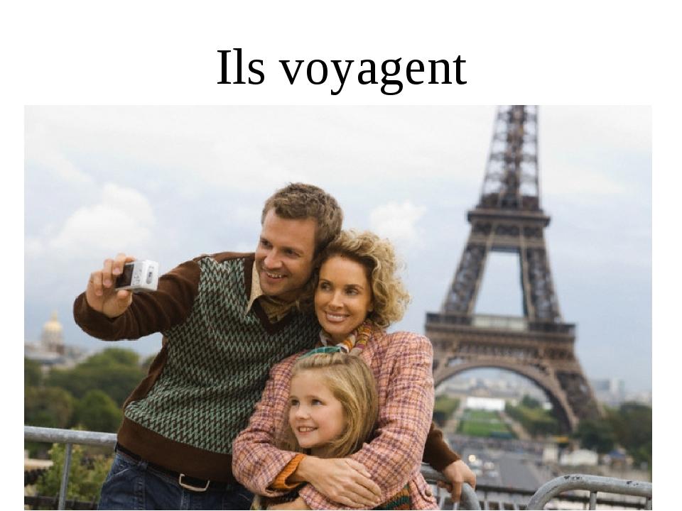 Ils voyagent