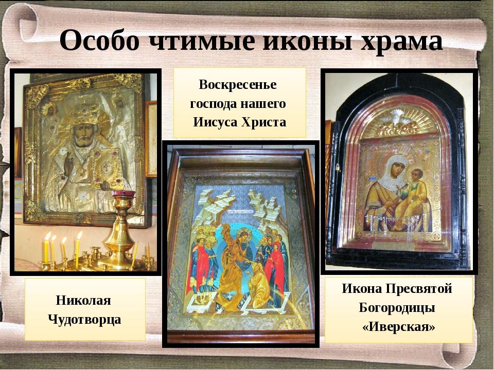 Икона Пресвятой Богородицы «Иверская» Воскресенье господа нашего Иисуса Христ...
