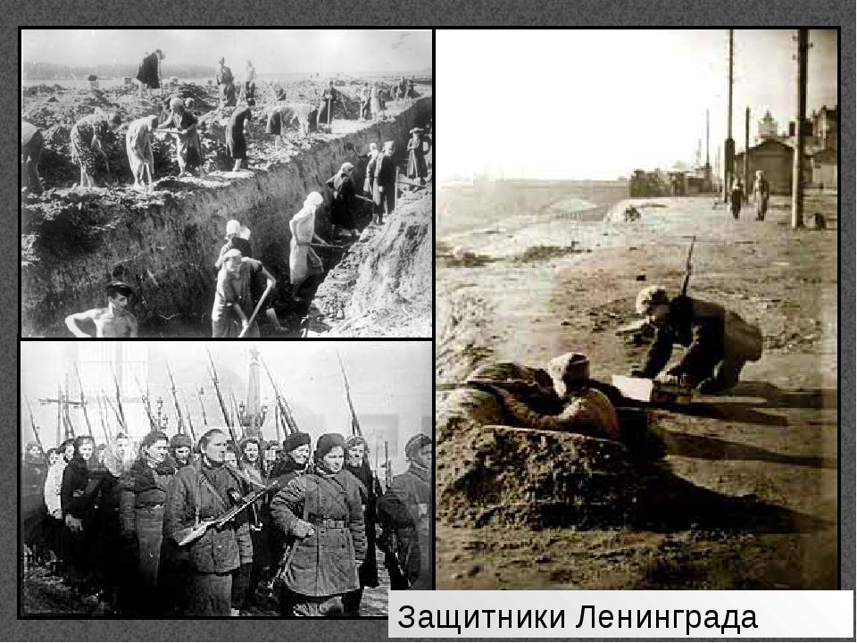 Защитники Ленинграда