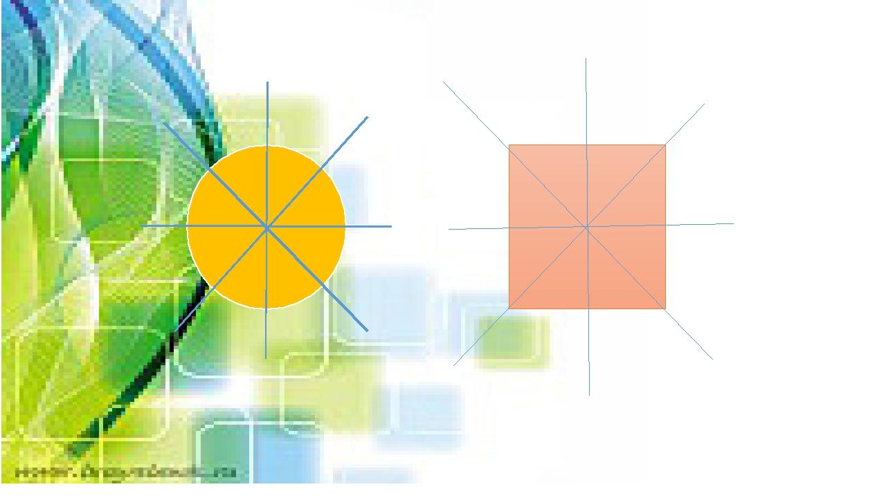 Берілген фигураларға симметриялы фигураны салыңдар. 1 6