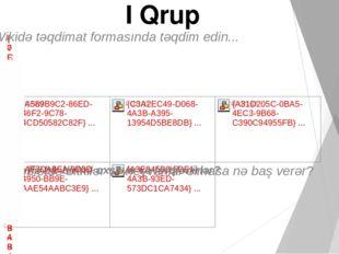I Qrup