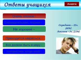 www.themegallery.com Не хорошее - Отрицательное, плохое - Осуждают – 22ч. (88