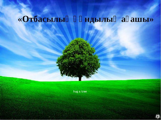 «Отбасылық құндылық ағашы»