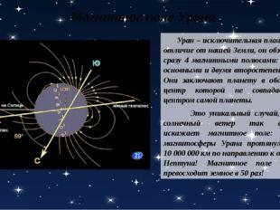 Уран – исключительная планета, в отличие от нашей Земли, он обзавелся сразу