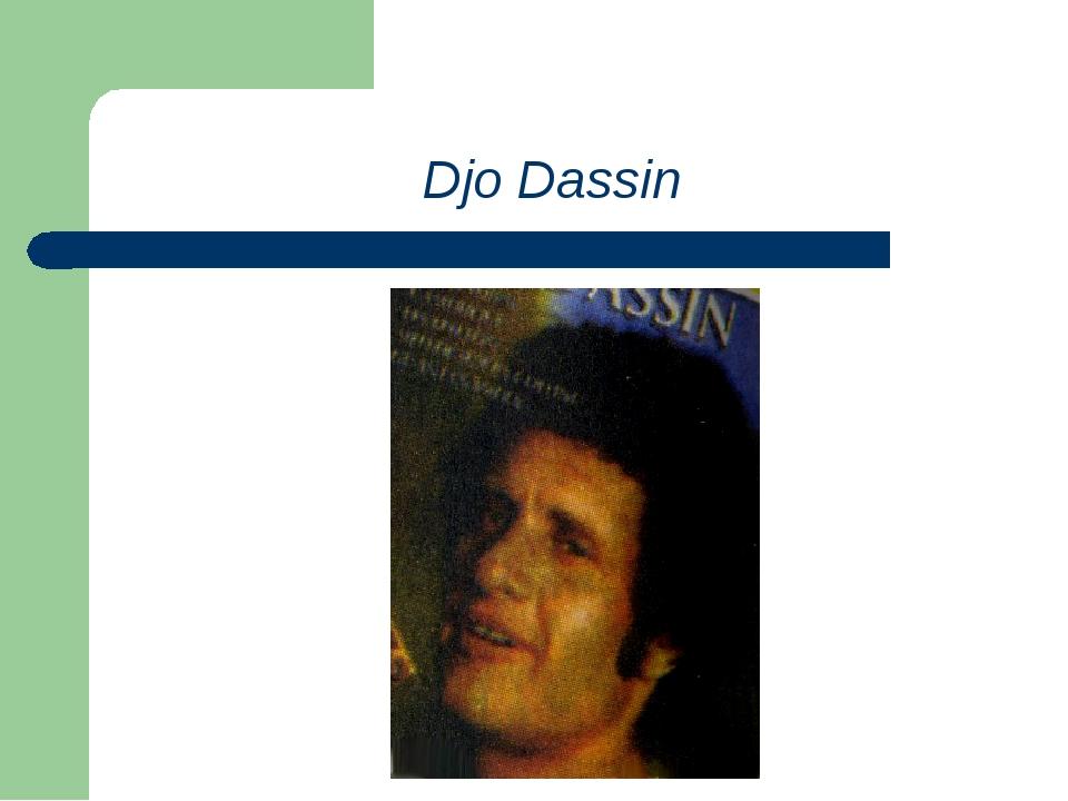 Djo Dassin