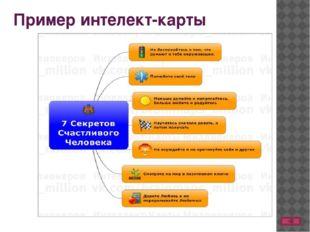 Пример интелект-карты