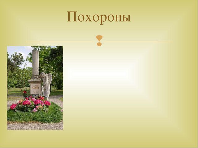 Кенотаф Моцарта — наиболее известное «захоронение» кладбища Святого Марка 6...