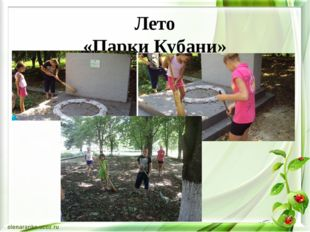 Лето «Парки Кубани»