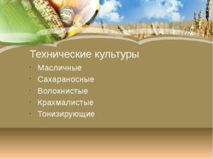 Соя США, Китай Бразилия Подсолнечник Россия, Украина, Белоруссия Арахис -Запа