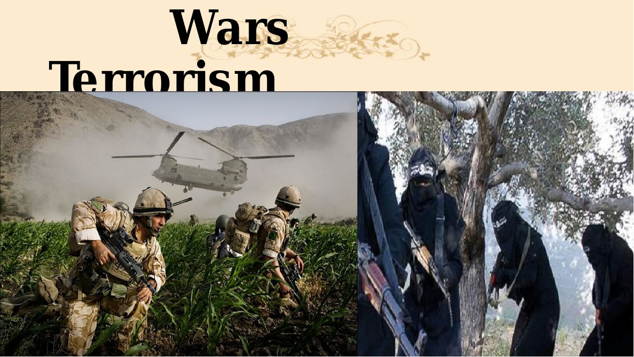 Wars Terrorism
