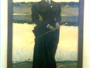 «Портрет О. М. Нестеровой, дочери художника», 1906