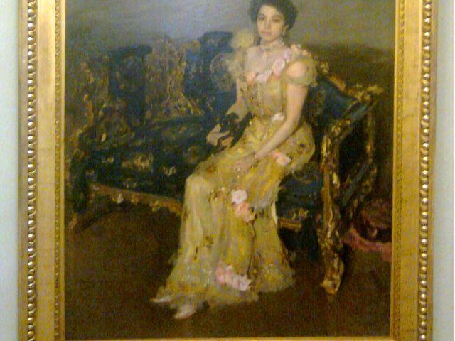 «Портрет Боткиной», 1899