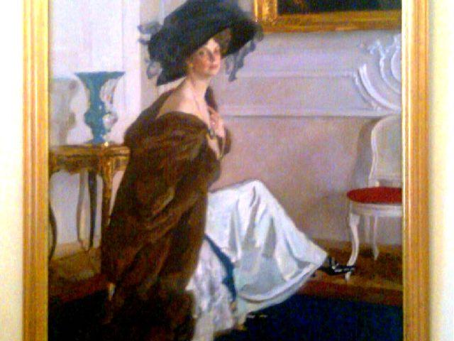 «Портрет О. К. Орловой», 1911