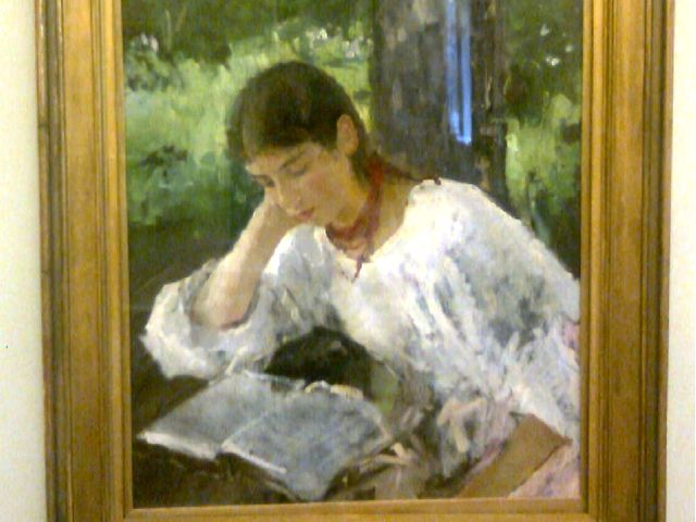 «Портрет Симонович», 1889