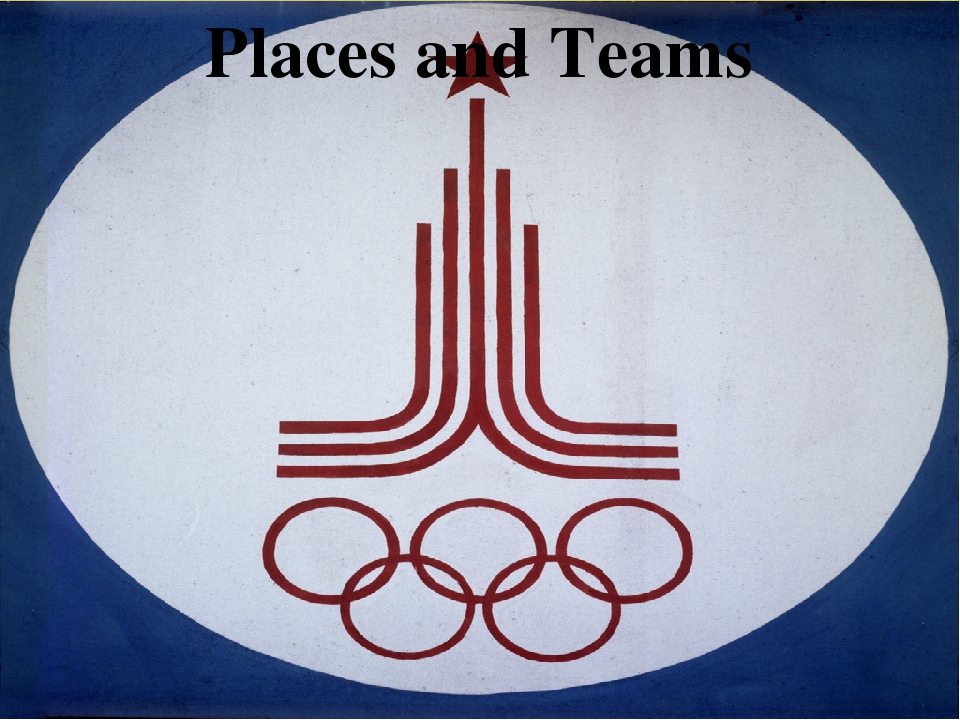 Places and Teams 