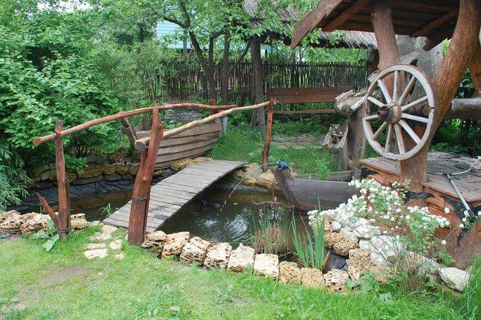 Дизайн дачи в деревенском стиле своими руками