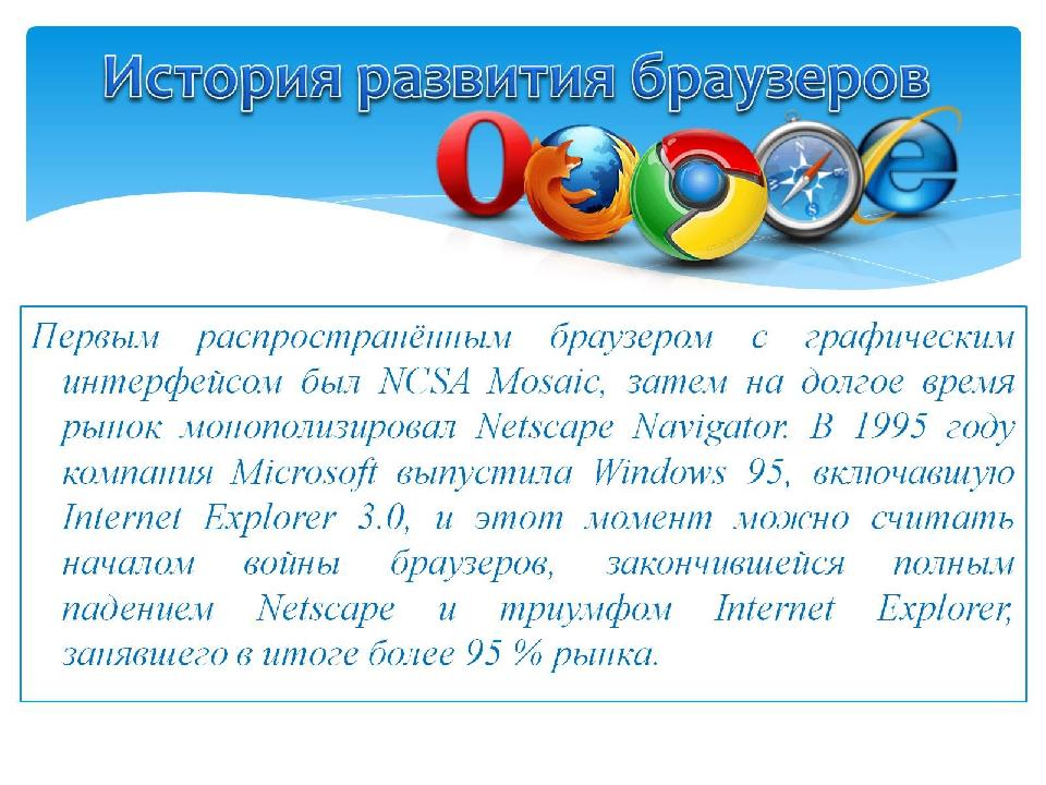 История развития браузеров