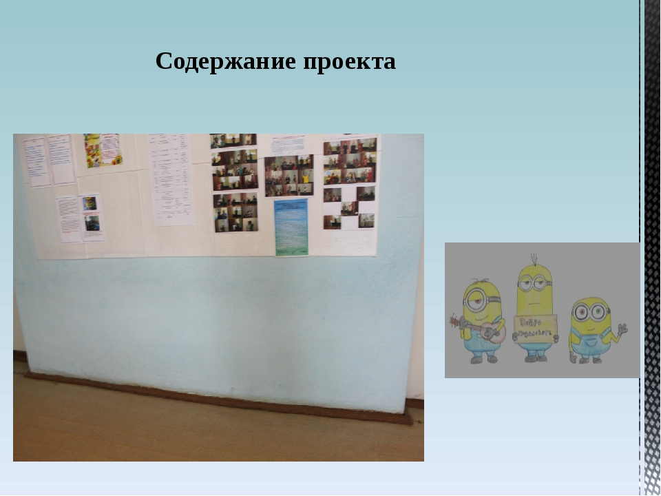 Содержание проекта