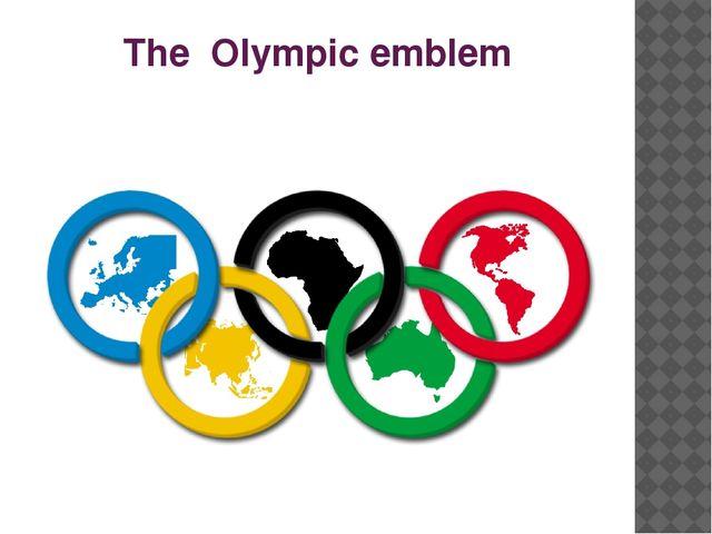 The Olympic emblem