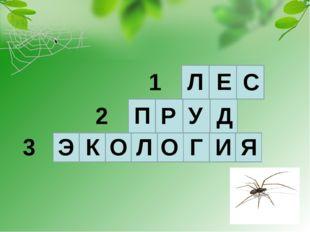 Л Е С П Р У Д Э К О Л О Г И Я 1 2 3